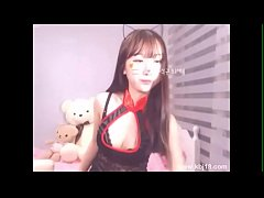cute korean cam girl - link 1 hour video at the description