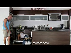 GayRoom - Dylan Knight Fucked By a Plunger And Peter Fields Huge Cock