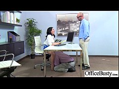 Office Sex With Horny Slut Girl With Big Tits vid-10