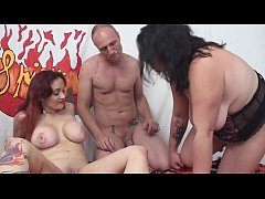 Milf and BBW vs a big cock with Mary Rider, Pamela and Capitano Eric