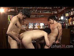 Lohan serves his mates with drinks and sex