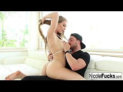 Hot Nicole Aniston pierces your pants with this creampie scene