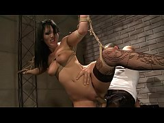 Suffering slut.BDSM movie.Hardcore bondage sex.