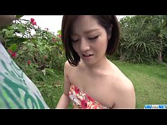 Dashing Asian woman, Minami Asano, full porn in outdoor  - More at javhd.net