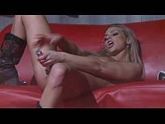 skinny babes dildo show on stage