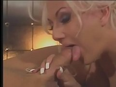 Hot vlonde vixen Victoria Spencer takes hard cock in her pussy doggystyle
