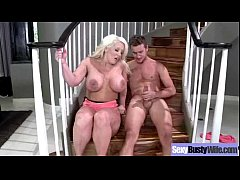 Sex Tape With Horny Busty Mature Lady (alura jenson) clip-02