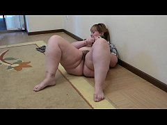 Nanaka tries a fat dick up her hairy love hole