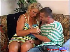 Russian mom and younger Russian lover 14