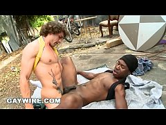 GAYWIRE - Horny White Guy Is In The Mood For Some Black Thug Ass