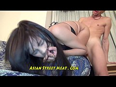 HD Sperm Splattered On Lovely Asian Face