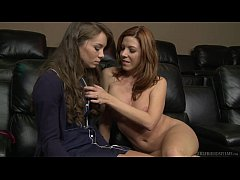 Capri Anderson and Lexi Lamour Lesbian Sex