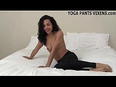 Watch me do my yoga while you jerk it JOI