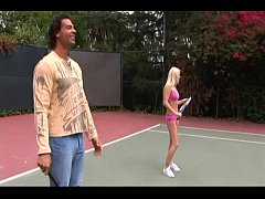 Horny Sluts Banged On Tennis Court