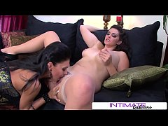 Intimate Lesbians - Alison Tyler feasts on Jessica's big tasty clit, big booty