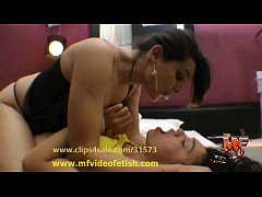 Spit and Kisses - Mature and young girl dirty m...