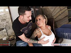 Tattooed blonde gf Payton West fucking