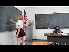 Creampie highschool teen