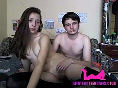 Young teen fucked by stepbrother