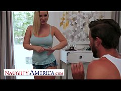 Naughty America - Bailey Brooke gives her friend's brother some juicy cake