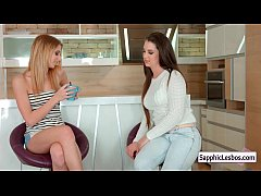 Sapphic Erotica Lesbians Free movie from www.SapphicLesbos.com 34