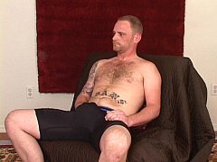 Big manly red str8 bruiser with big cock