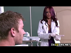 Danny D bangs her sexy Dentist Monique Alexander hard