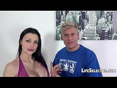 aletta ocean gets fucked hard by two guys