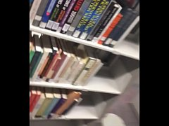 College Teen Gets Fucked In Public Library