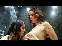 Shay Laren and Nadia Aria - Hot Shower