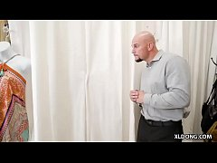 Fuck in a public changing room # Jade Amber