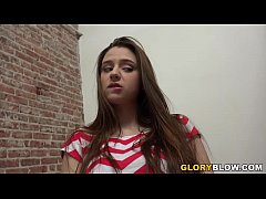 Teen Elektra Rose Fucks BBC - Glory Hole