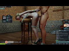 Anal Hot Sex at a 3DXChat Club (patreon\/Kissing Kat)