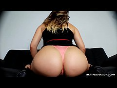 Thick and Round Ass Worship Femdom POV