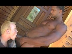 Black & white (hot gay porn interracial scene)