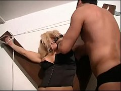 Busty blonde brutally fucked by sadic men