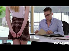 VIXEN Kinky Secretary Gets Tied Up and Fucked By Her Boss
