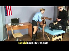 Gyno examination for sweet young blonde babe