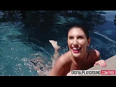 DigitalPlayground - A Hot Day In August (August Ames, Alex Legend)