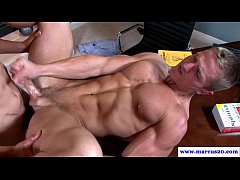 Straight guy getting ass slammed
