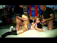 AMATEUR Geiler Gang Bang in Garage - Erotic Planet HD - AMATEUR
