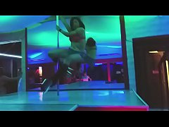 super sexy dance at the stripper pole