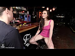 Casey Calvert fucks at a bar