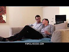 FamilyDick - Hot Teen Takes Giant Daddy Cock