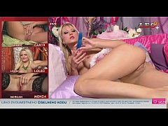 Sexy czech Telephone\/TV sex showgirl
