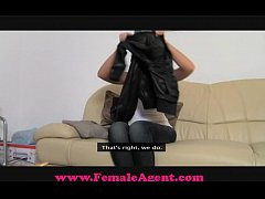 FemaleAgent All natural busty beauty