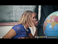 Brazzers - Big Tits at School -  Washing Her Mouth Out With Cum scene starring Tegan James and Derri