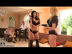HD Epic foursome with Tarra White and Aletta Ocean