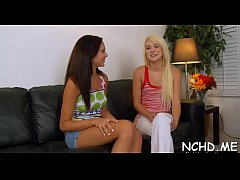 Hot-tempered blonde Ariana Marie blows and gets fingered