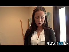PropertySex - Young good looking real estate babe fucks her client